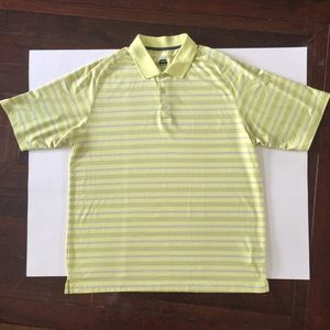 Bolle Golf Shirt Yellow Size XL